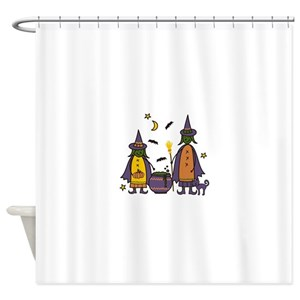 Witch Cauldron Shower Curtains