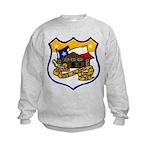 USS ALAMO Kids Sweatshirt