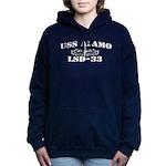USS ALAMO Women's Hooded Sweatshirt