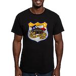 USS ALAMO Men's Fitted T-Shirt (dark)