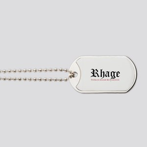 Rhage Dog Tags