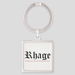 Rhage Square Keychain Keychains