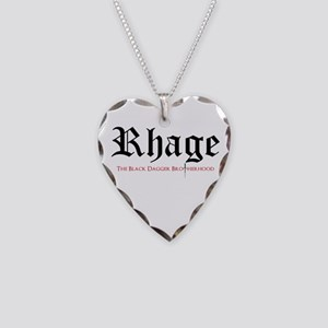 Rhage Necklace Heart Charm