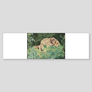 Chillin Cheetah Bumper Sticker