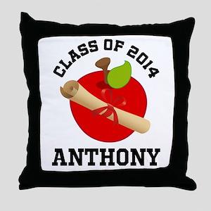 Class of 2014 school Throw Pillow