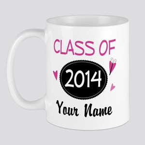 Personalized Class Of 2014 Mugs