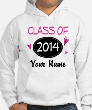 Personalized Class Of 2014 Hoodie