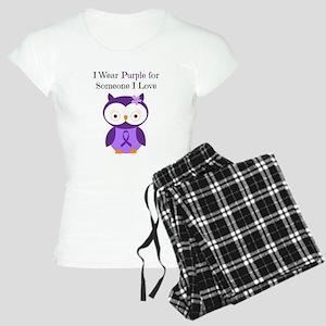 I Wear Purple Women's Light Pajamas