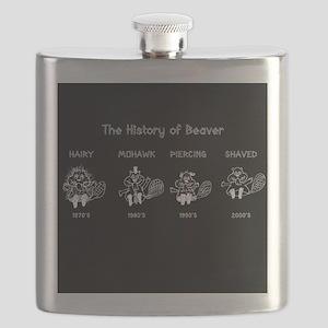 History of Beavers Flask