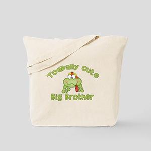Toadally Cute Big Brother Tote Bag
