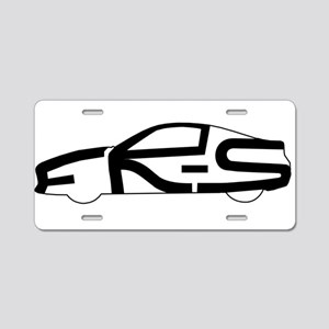 FR-S shape Aluminum License Plate