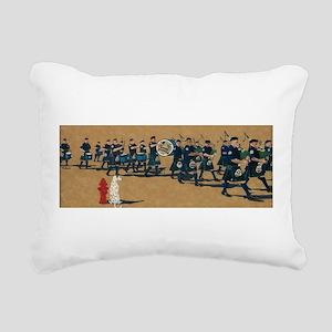 Fired Up Rectangular Canvas Pillow