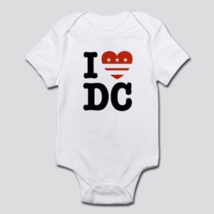 I Love DC Infant Bodysuit