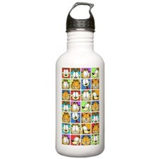 Garfield Face Time Stainless Water Bottle 1.0L