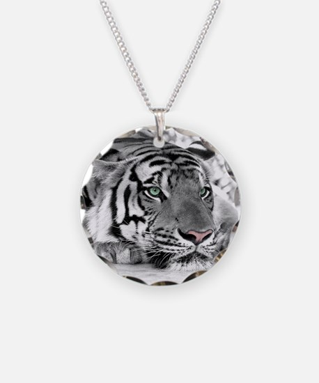 Lazy Tiger Necklace