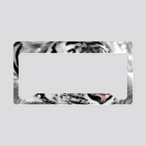 Lazy Tiger License Plate Holder