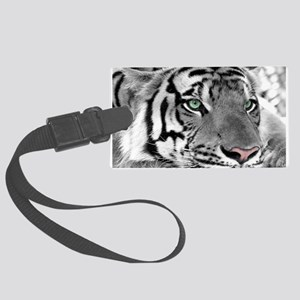 Lazy Tiger Luggage Tag