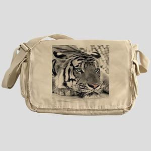Lazy Tiger Messenger Bag