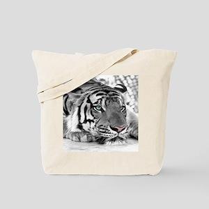 Lazy Tiger Tote Bag