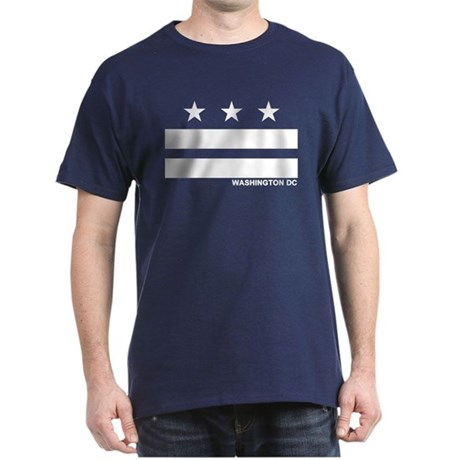 Washington DC Flag Dark T-Shirt