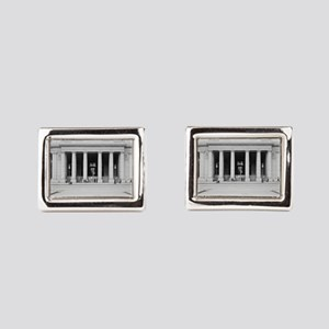 Penn Station Entrance, 1910 Rectangular Cufflinks