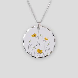 Paper Butterflies Necklace