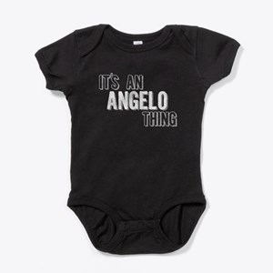 Its An Angelo Thing Baby Bodysuit