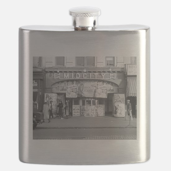 Midcity Movie Theater, 1937 Flask