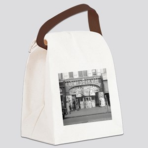 Midcity Movie Theater, 1937 Canvas Lunch Bag