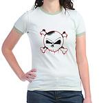 Skull n' X-bones Jr. Ringer T-Shirt