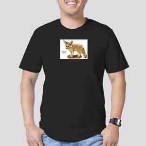 Fennec Fox Men's Fitted T-Shirt (dark)