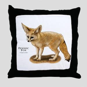 Fennec Fox Throw Pillow