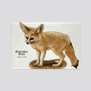 Fennec Fox Rectangle Magnet