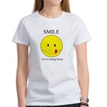 Smile you're Women's T-Shirt