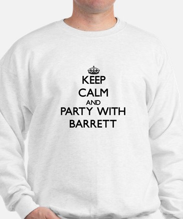 Keep calm and Party with Barrett Jumper
