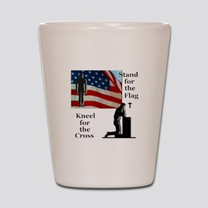 Stand for the Flag Shot Glass