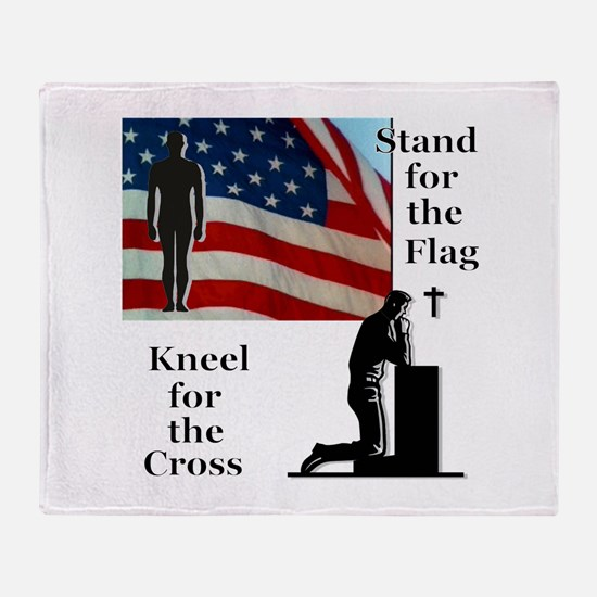 Stand for the Flag Throw Blanket