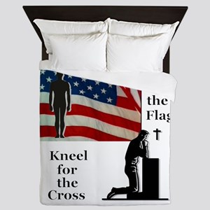 Stand for the Flag Queen Duvet