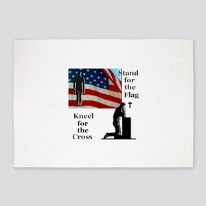 Stand for the Flag 5'x7'Area Rug