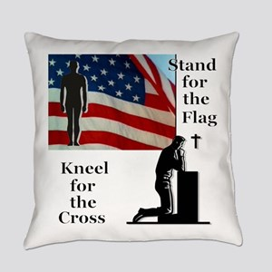 Stand for the Flag Everyday Pillow