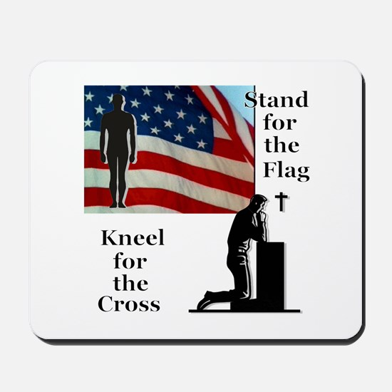 Stand for the Flag Mousepad