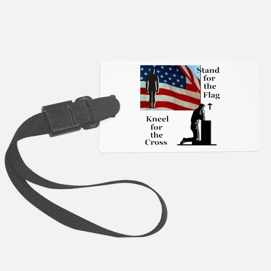 Stand for the Flag Large Luggage Tag