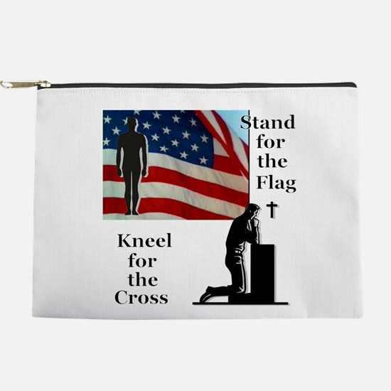 Stand for the Flag Makeup Pouch