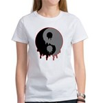 Blood Drip Ying Yang Women's T-Shirt