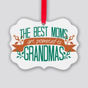 Promoted to Grandma Ornament