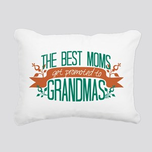 Promoted to Grandma Rectangular Canvas Pillow