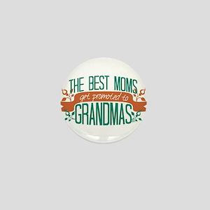 Promoted to Grandma Mini Button