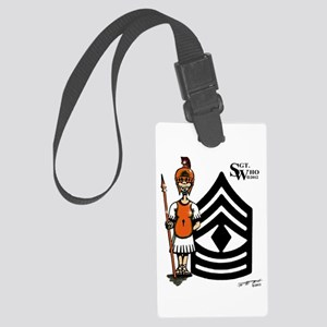 Sgt Who's 1SG Large Luggage Tag