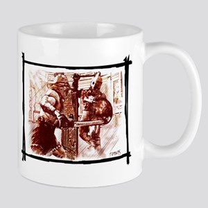 Gladiators duel Mugs