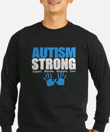 Autism Strong Long Sleeve T-Shirt